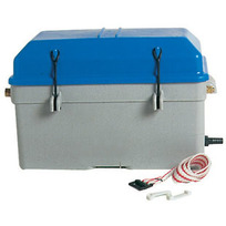 Cassetta portabatteria stagna ventilata