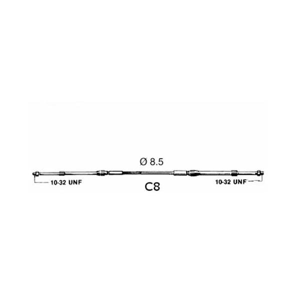 Cavo Ultraflex C8 08'