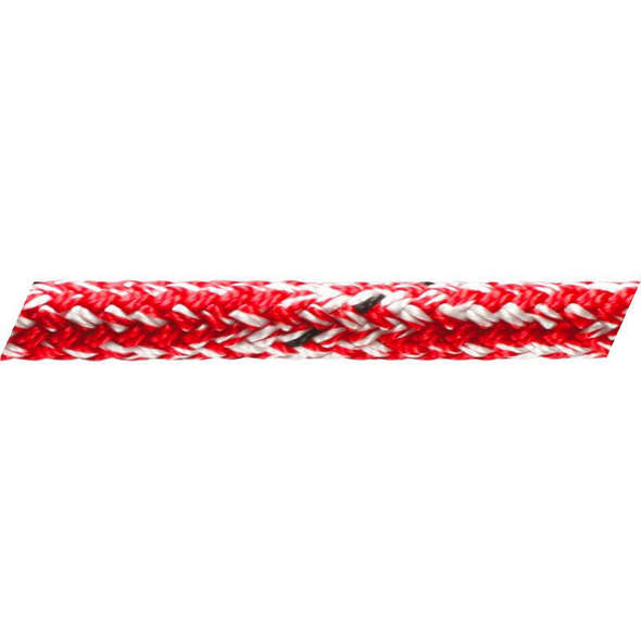 Cima Marlow Doublebraid Marble 6 mm. - Rosso