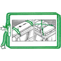 Cinghia portapacchi Fast Cargo
