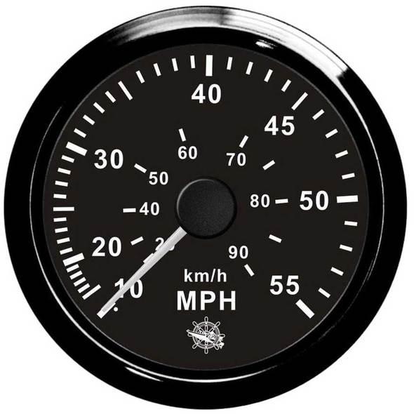 Contamiglia Pitot Nero - 35 mph
