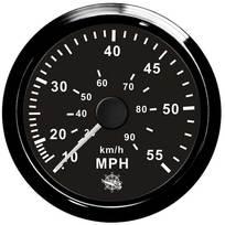Contamiglia Pitot Nero - 65 mph