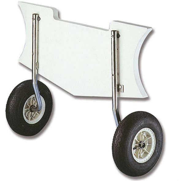 Coppia ruote alaggio fisse 150 kg