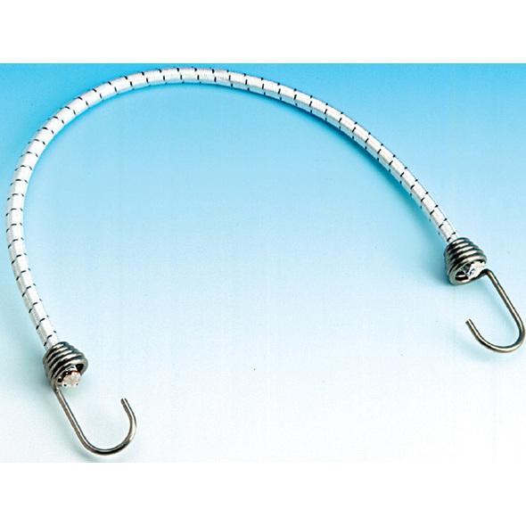 Corda elastica con ganci inox 6x30