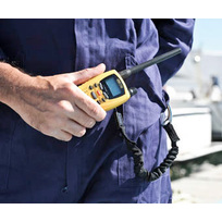 Cordoncino Secure VHF con gancio anticaduta