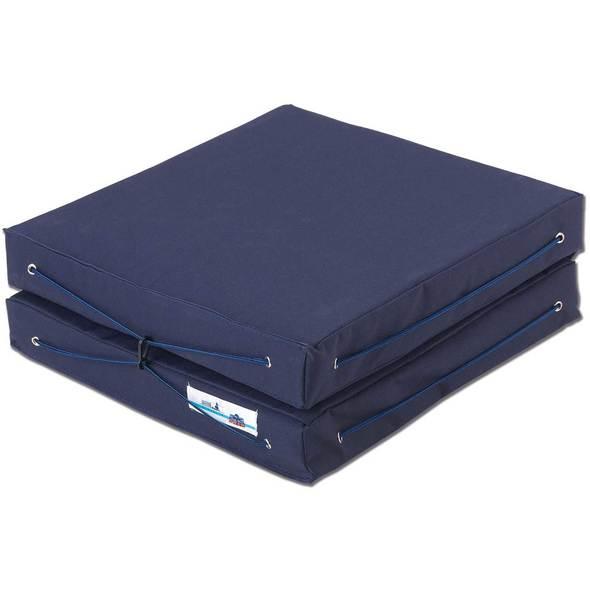 Cuscino per barca Royal Blu con schienale