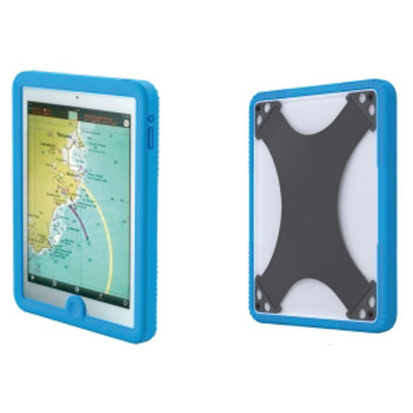 Custodia impermeabile iPad Blu
