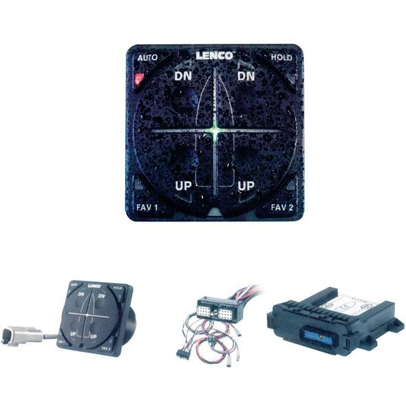 Dispositivo controllo Trim Tabs sistemi flap singolo cilindro