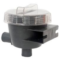 Filtro ai carboni attivi per sfiato serbatoio acque nere a 90°