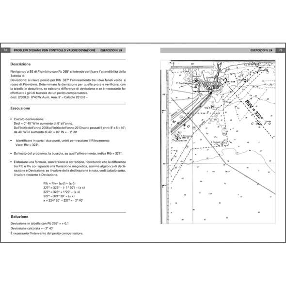 Esercizi di Carteggio Ministeriali per Patente Nautica Senza Alcun Limite dalla Costa
