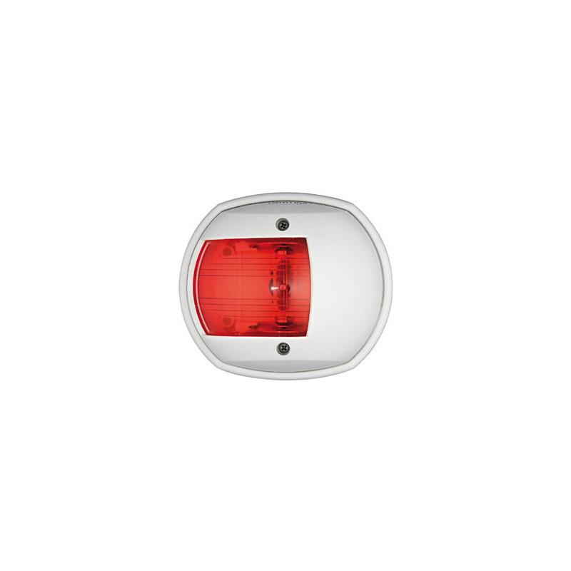 FANALE LATERALE NERO LUCE DI VIA a LED luce rossa barca nautica