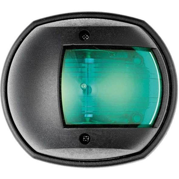"""Fanale di via """"Classic 12"""" Cassa nera Luce verde 112,5°"""
