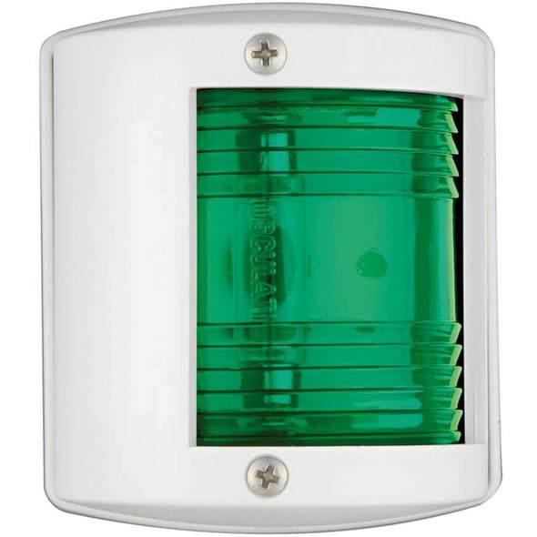 """Fanale di via """"Utility 77"""" laterale verde 112,5° bianco"""