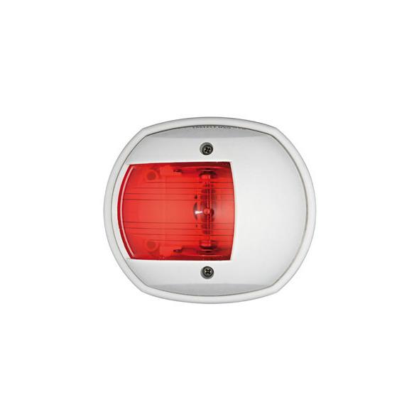 Fanale di via Classic 12. Cassa bianca Luce rossa 112,5