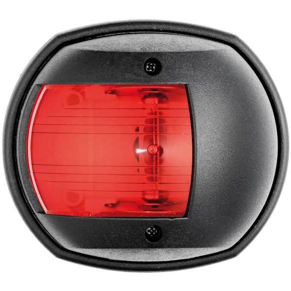 Fanale di via Classic 12 Cassa nera Luce rossa 112,5