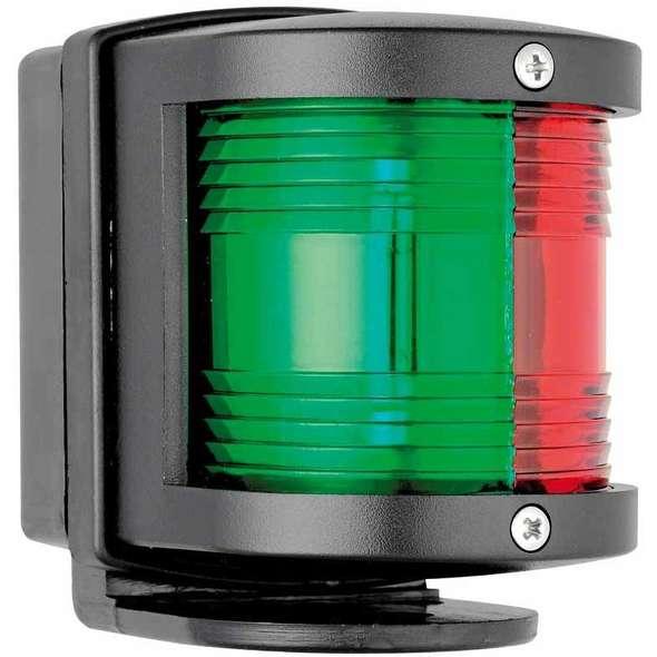 Fanale di via Utility 77 con Basetta Nera - Combinato Rosso/Verde 112,5+112,5