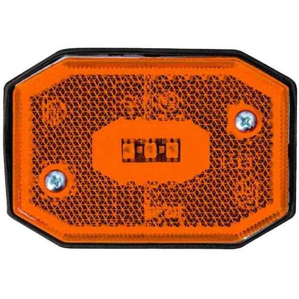 Fanali di Posizione a LED per Carrelli ELLEBI - Luce Laterale Arancio