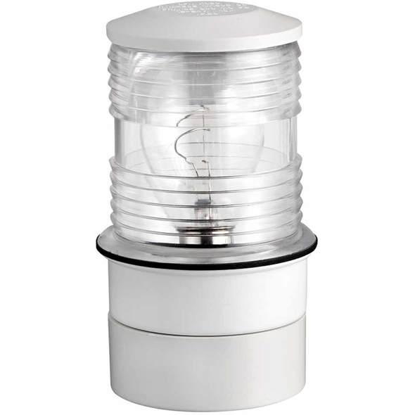 Fanalino 360 testa dalbero plastica Bianco luce bianca