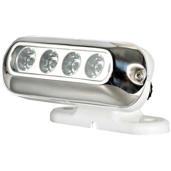 Faro 4 LED supporto orientabile
