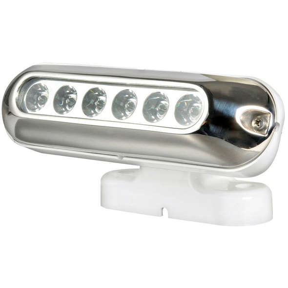 Faro 6 LED supporto orientabile