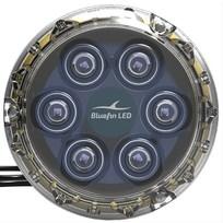 Faro Bluefin Led Piranha P6 Nitro 12V - Blu