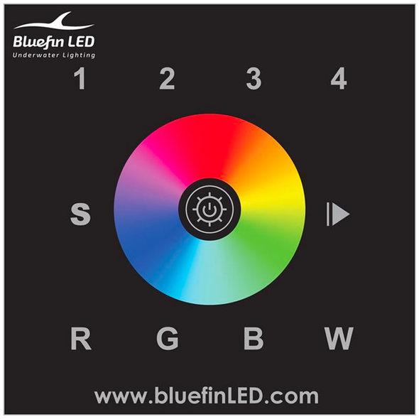 Faro Subacqueo Passante Bluefin Led Mako M24 - Variazione di colore