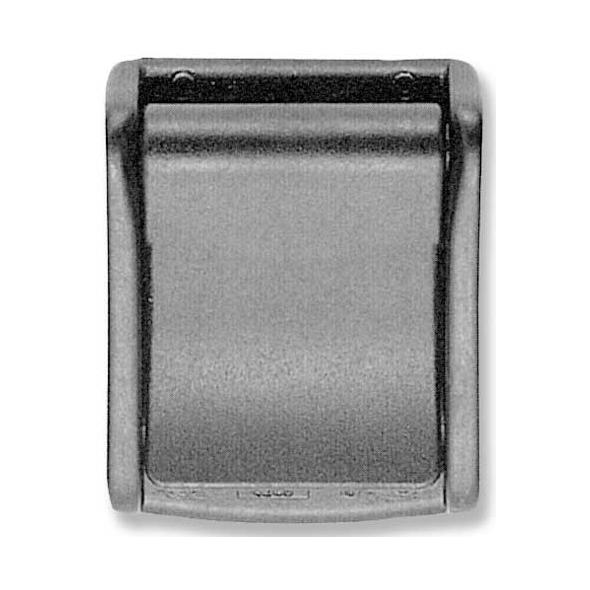 Fibbia a flap per cinghia mm.30
