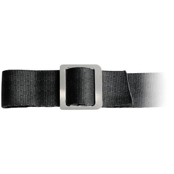 Fibbia per cinghia 3 passaggi Inox 30 mm