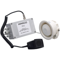 Fischio elettron.incasso + Mic. + Sirena EMHI-MS