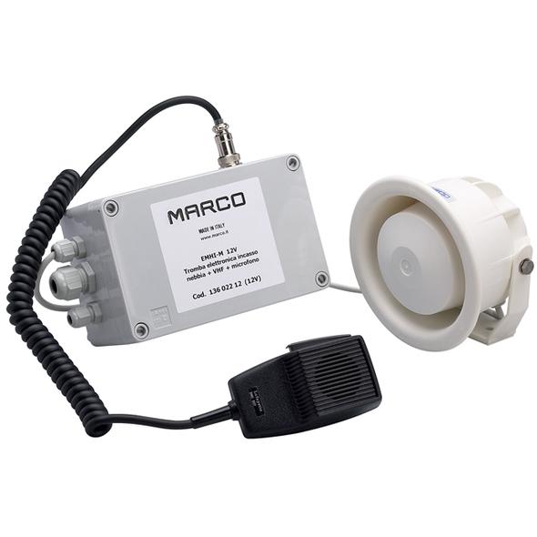 Fischio elettronico incasso + Mic. EMHI-M 24V