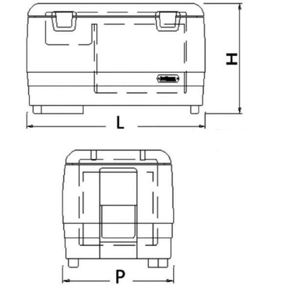 Frigorifero portatile TB 31 lt. 30