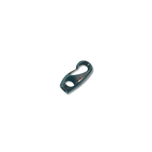Gancio corda elastica Nero 4 mm
