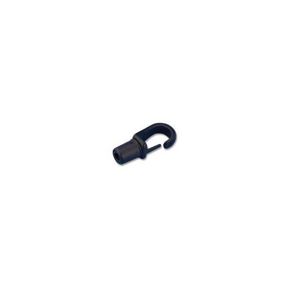 Gancio nylon montaggio automatico per corda 5-6 mm
