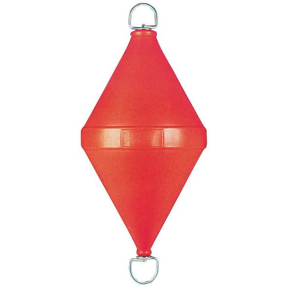 Gavitello polietilene con tirante passante 20 litri rosso