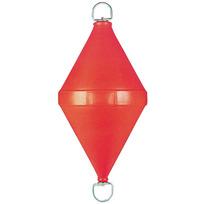 Gavitello polietilene con tirante passante 60 litri rosso