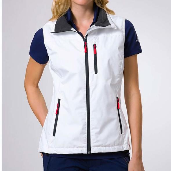 Gilet Helly Hansen Crew Midlayer Vest Donna - Bianco