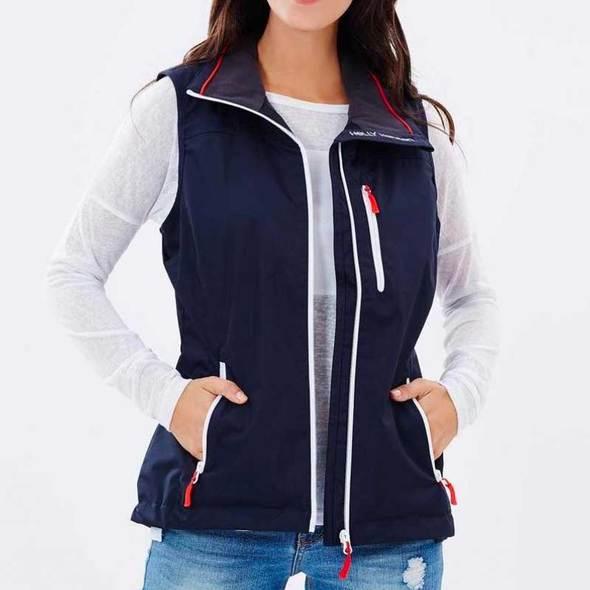 Gilet Helly Hansen Crew Midlayer Vest Donna - Blu Navy