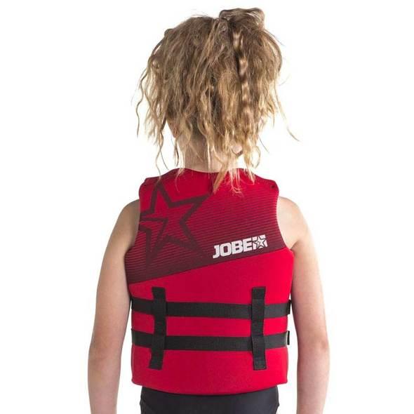 Giubbotto Jobe Neoprene Vest per bambini Rosso