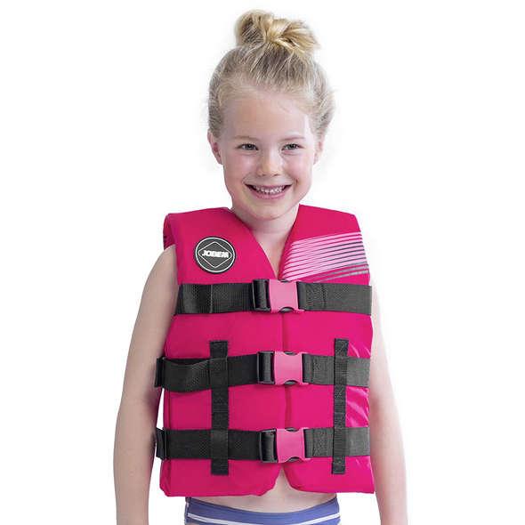 Giubbotto Jobe Nylon Vest per bambini Hot Pink