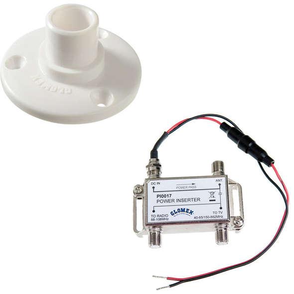 Glomex Avior Antenna TV Terrestre Omnidirezionale Compatta