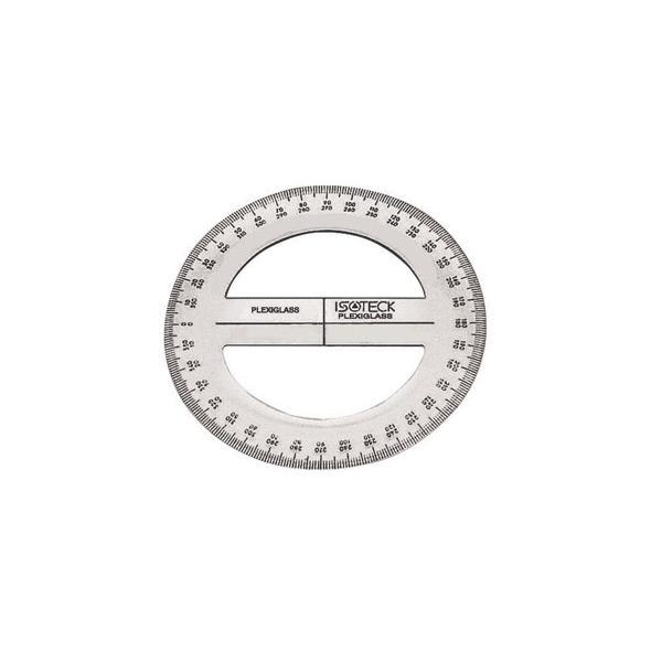 Goniometro in plexiglass