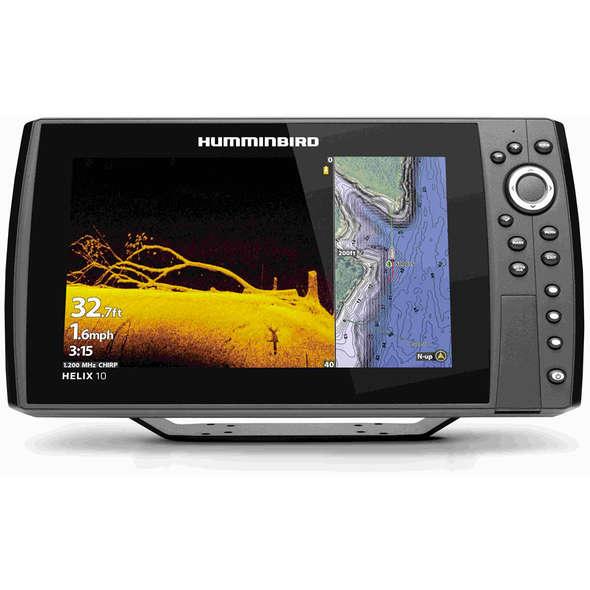 GPS/ECO Humminbird Helix 10 CHIRP MDI+ G4N
