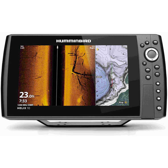GPS/ECO Humminbird Helix 10 CHIRP MSI+ G4N