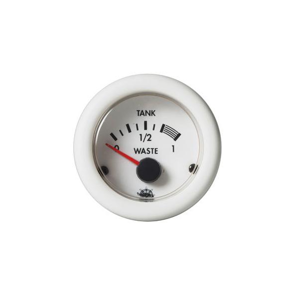 Guardian Indicatore livello acque nere 10-180 ohm Bianco 12 V