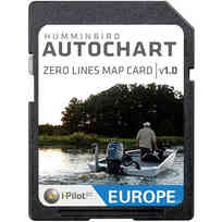 Humminbird AutoChart ZeroLine SD Card Europa