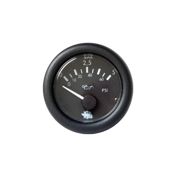 Indicatore Pressione 0-5 bar Nero 24 V.