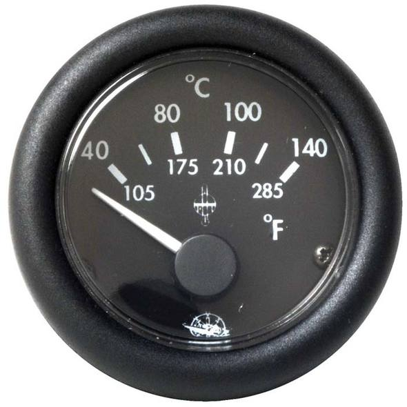 Indicatore Temperatura Acqua Nero 120° 12 V.