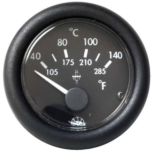 Indicatore Temperatura Acqua Nero 120° 24 V.