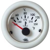 Indicatore Temperatura Olio 150 Bianco 12 V.