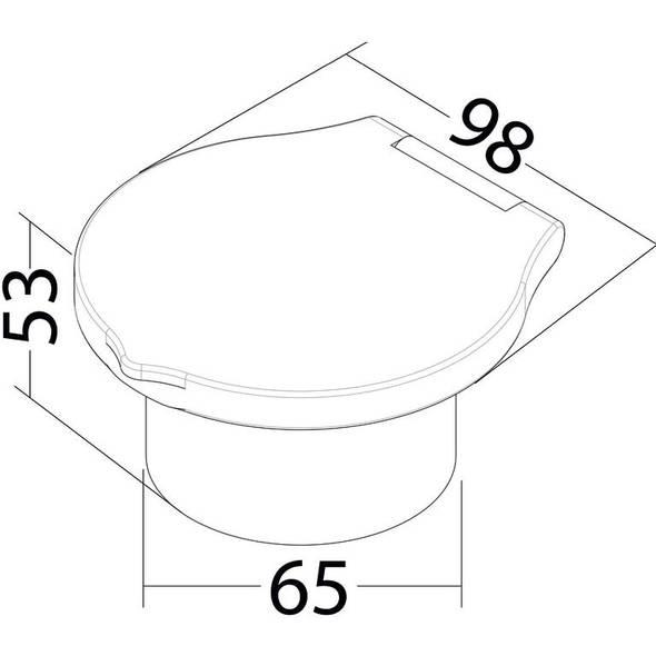 Kit doccia Elegant Mizar tubo mt 2,5